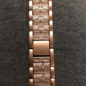 Secbolt Bling Bands Other - New Apple Watch 40mm Rose Gold w/Crystals band